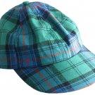 Men / Women Fashion Leisure Grid Fad All-Match Irish National Tartan Plaid Baseball Cap Peaked Cap