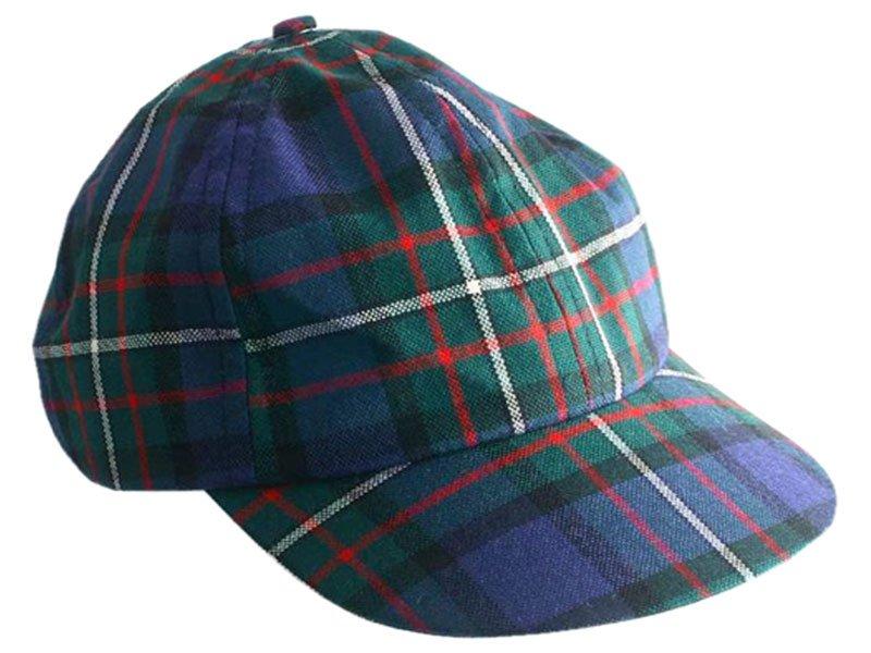 Men / Women Fashion Leisure Grid Fad All-Match Mackenzie Tartan Plaid Baseball Cap Peaked Cap
