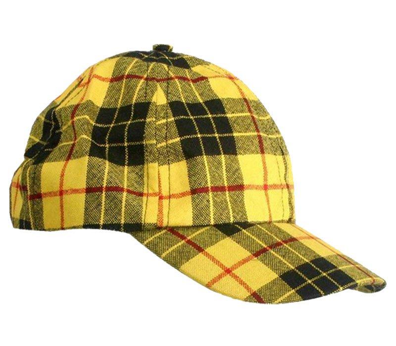 Men / Women Fashion Leisure Grid Fad All-Match McLeod Of Lewis Tartan Plaid Baseball Cap Peaked Cap