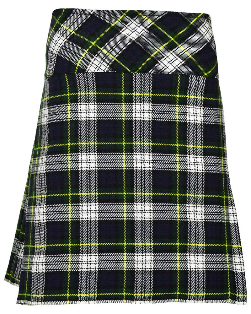 Ladies Dress Gordon Tartan Mini Billie Kilt Mod Skirt Girls Mini Billie Skirt