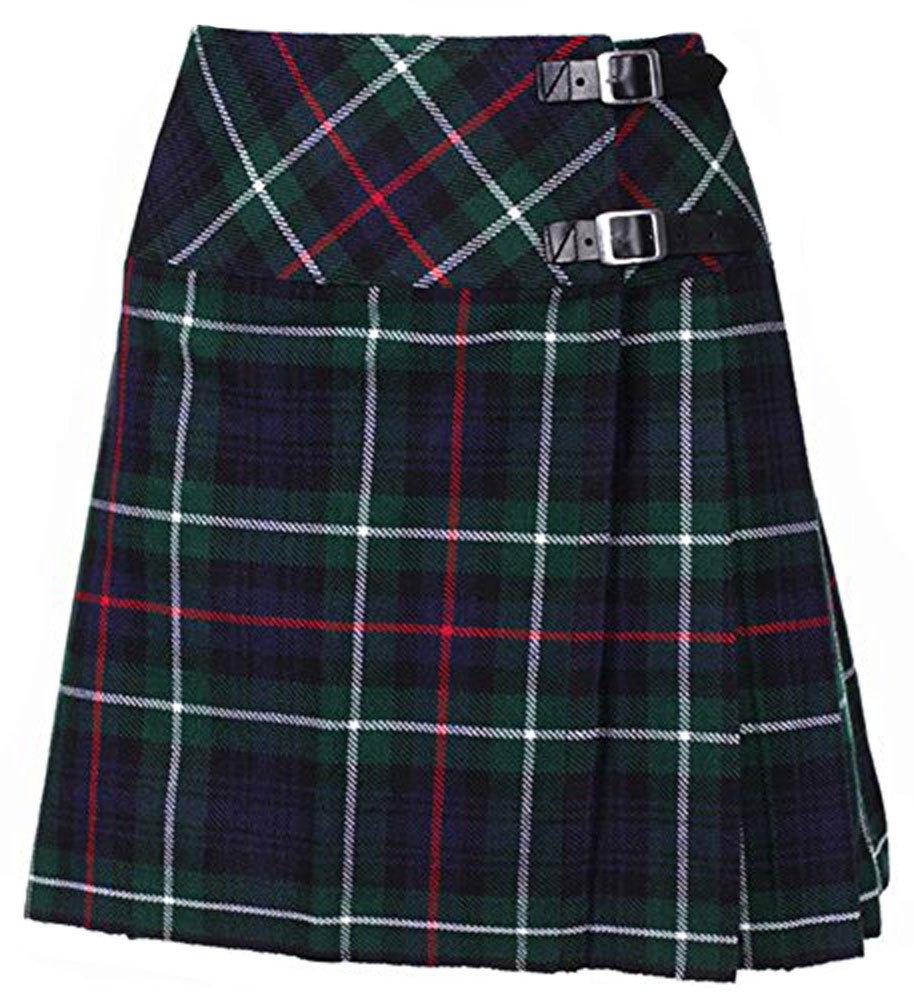 Ladies Mackenzie Tartan Mini Billie Kilt Mod Skirt Girls Mini Billie Skirt