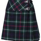 Ladies Mackenzie Tartan Mini Billie Kilt Mod Skirt Girls Mini Billie Skirt