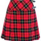 Ladies Wallace Tartan Mini Billie Kilt Mod Skirt Girls Mini Billie Skirt