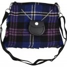 Scottish Heritage Of Scotland Tartan Ladies Kilt Shaped Purse, Traditional Clothing Hand Bag