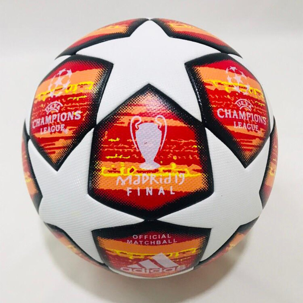 UEFA CHAMPIONS LEAGUE FINALE MADRID 19 TOP TRAINING BALL Replica Soccer Football