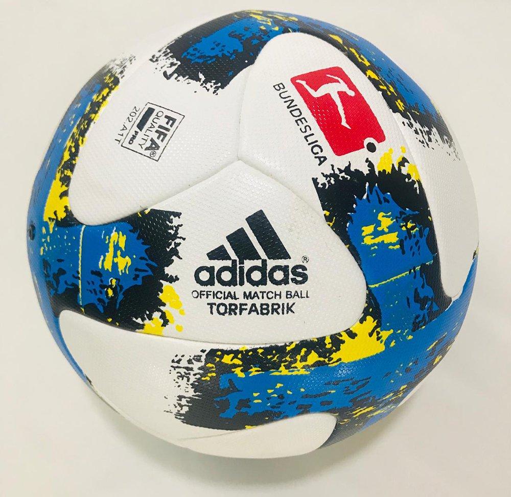 New Adidas Match Ball TORFABRIK 2017/2018 Pallone BALON Footgolf Football Ballon