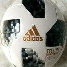 adidas World Cup 2018 Official Match Ball [White/Black/SILVMT]