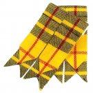 Men's McLeod of Levis Scottish Kilt Hose Sock Flashes Garters Traditional Tartan Flashes