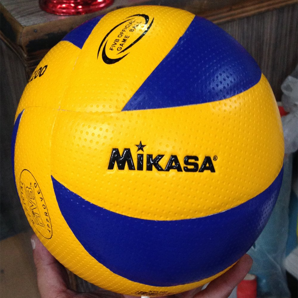 MIKASA MVA200 Official FIVB Approved Volleyball Indoor Game Ball size 5