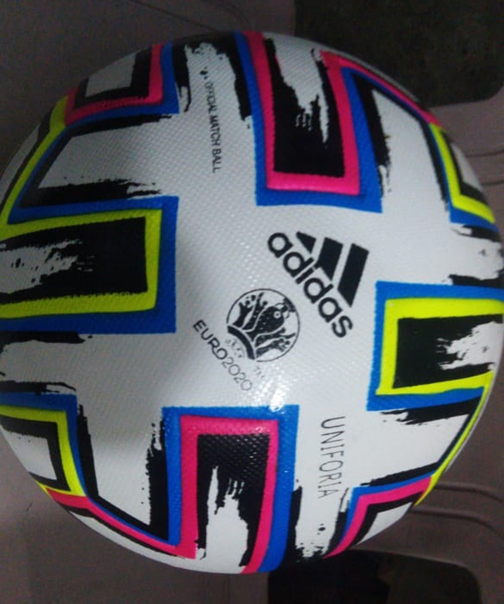 Brand New Adidas Uniforia Euro Cup 2020 Official Soccer Match Ball Size 5