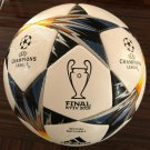 Adidas UCL Final Kyiv Official Game Replica Ball (White / Black / Solar Yellow) Made in Sialkot
