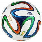 Adidas Brazuca World Cup 2014 Replica 32 Panel Soccer Ball, Made In Sialkot