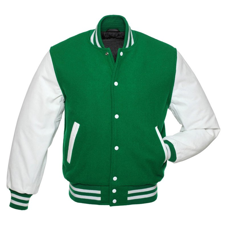 Varsity Men Boys Unisex Letterman University College Baseball Jacket