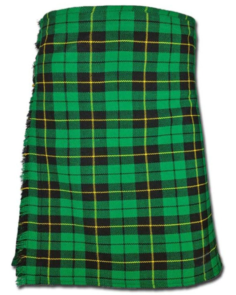 Traditional Wallace Hunting Tartan 5 Yard 13oz. Scottish Kilt 28 Waist Size Dress Skirt Tartan Kilts