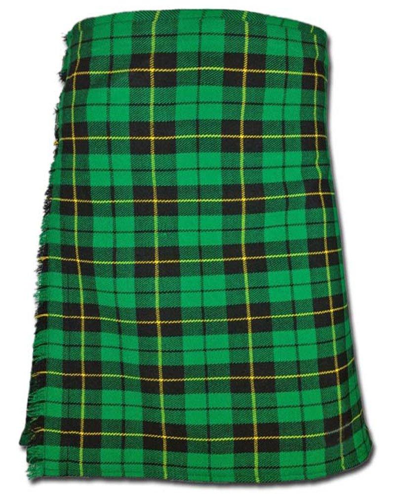 Traditional Wallace Hunting Tartan 5 Yard 13oz. Scottish Kilt 46 Waist Size Dress Skirt Tartan Kilts