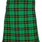 Traditional Wallace Hunting Tartan 5 Yard 13oz. Scottish Kilt 46 Waist Size Dress Skirt Tartan Kilts
