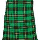Traditional Wallace Hunting Tartan 5 Yard 13oz. Scottish Kilt 50 Waist Size Dress Skirt Tartan Kilts