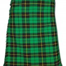 Traditional Wallace Hunting Tartan 5 Yard 13oz. Scottish Kilt 56 Waist Size Dress Skirt Tartan Kilts