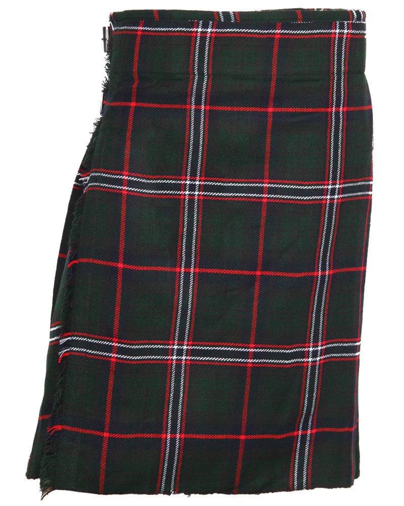 Traditional Scottish National Tartan 5 Yard 13oz. Scottish Kilt 46 Waist Size Dress Tartan Skirt