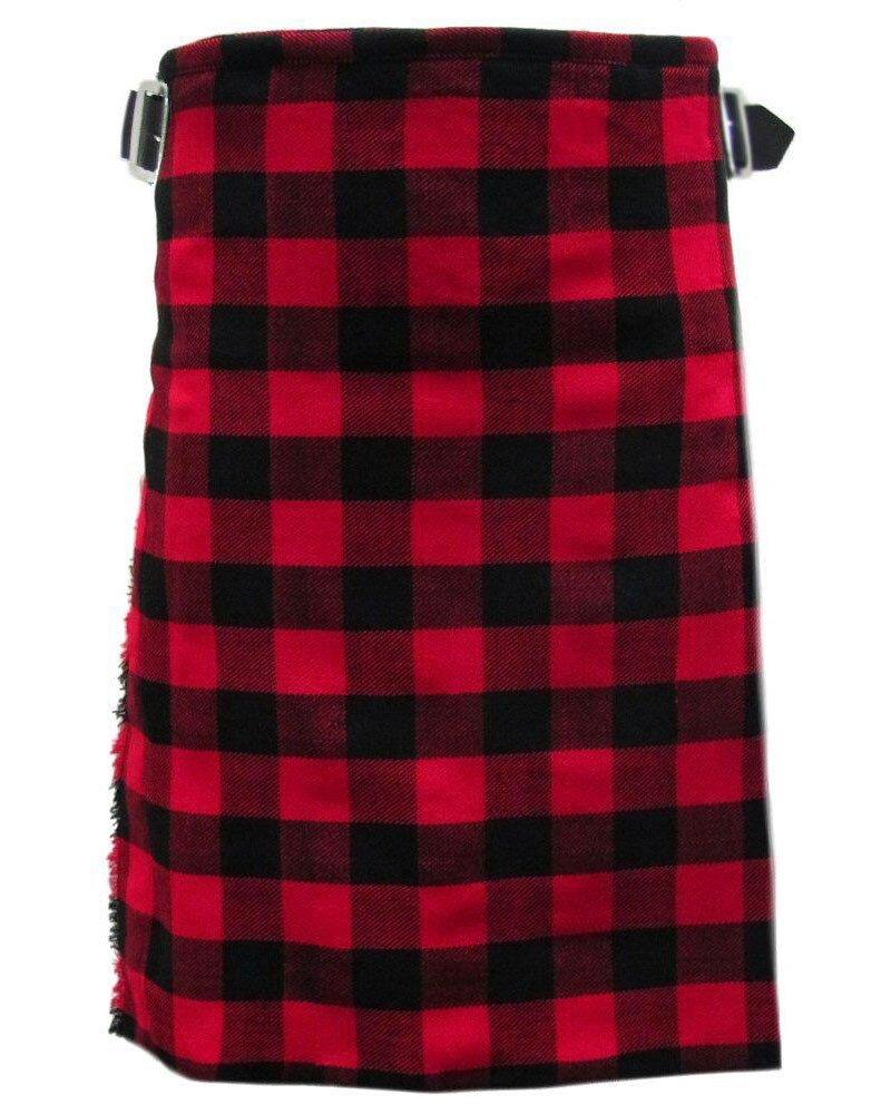 Traditional Rob Roy Tartan 5 Yard 13oz. Scottish Kilt 52 Waist Size Dress Skirt Tartan Kilts
