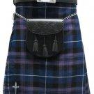 Traditional Pride Of Scotland Tartan 5 Yard 13oz. Scottish Kilt 44 Waist Size Dress Tartan Skirt