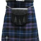 Traditional Pride Of Scotland Tartan 5 Yard 13oz. Scottish Kilt 46 Waist Size Dress Tartan Skirt