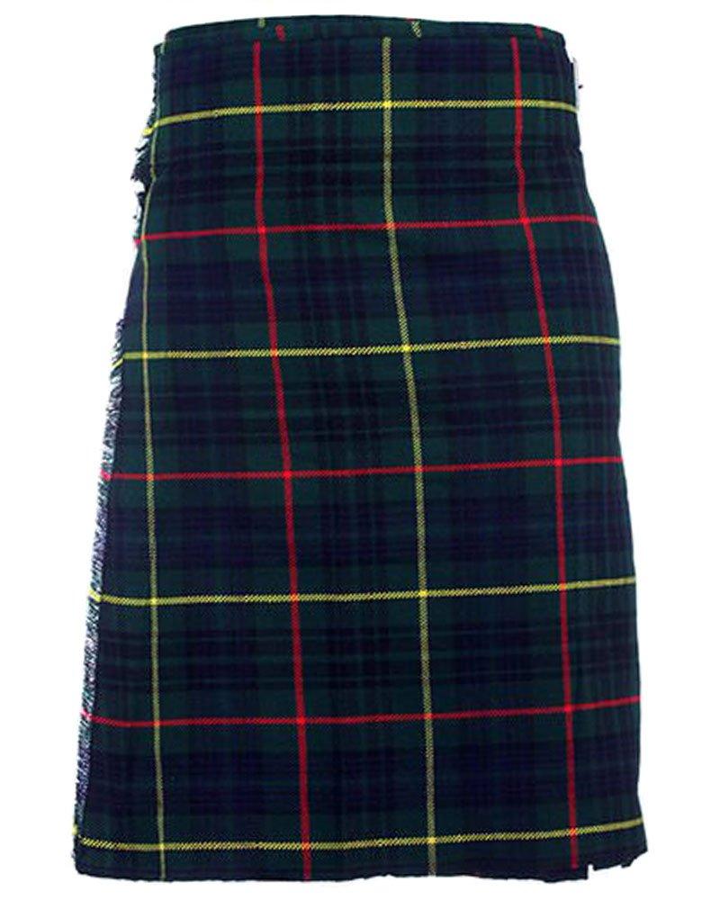 Traditional Hunting Stewart Tartan 5 Yard 13oz. Scottish Kilt 32 Waist Size Dress Skirt Tartan Kilts