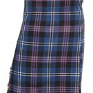 Traditional Heritage Of Scotland Tartan 5 Yard 13oz. Scottish Kilt 46 Waist Size Dress Tartan Skirt