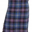 Traditional Heritage Of Scotland Tartan 5 Yard 13oz. Scottish Kilt 56 Waist Size Dress Tartan Skirt