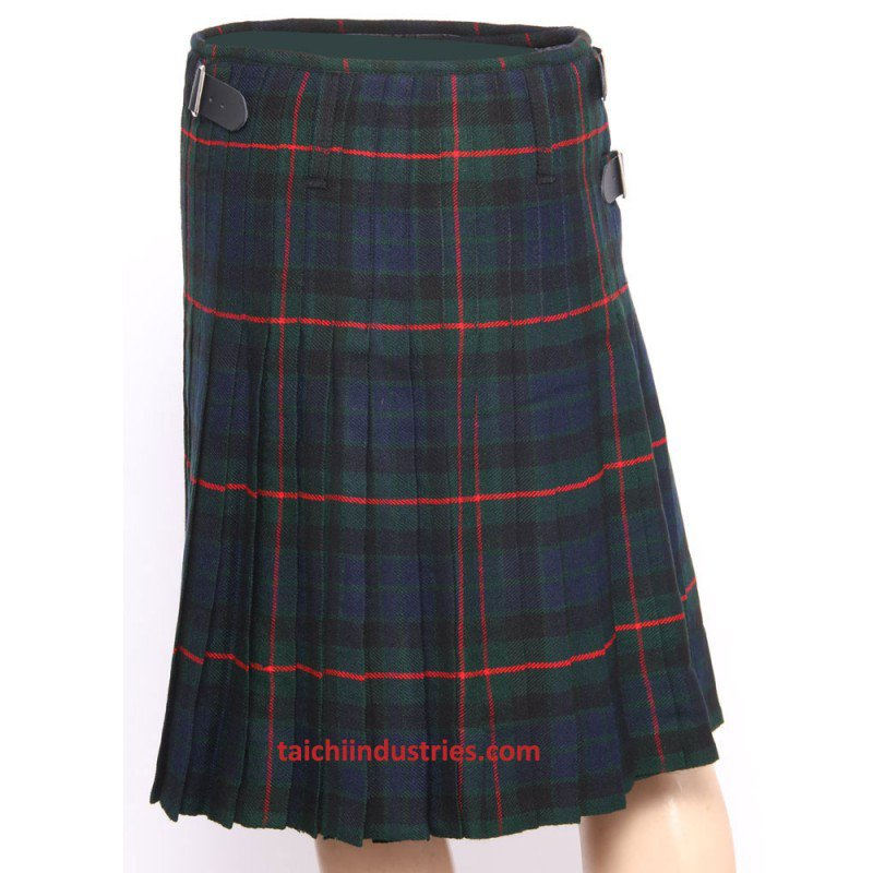 Traditional Gunn Tartan 5 Yard 13oz. Scottish Kilt 40 Waist Size Dress Skirt Tartan Kilts