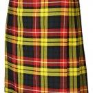 Traditional Buchanan 13oz. Tartan 5 Yard Scottish Kilt 54 Waist Size Dress Skirt Tartan Kilts