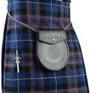 Scottish Pride Of Scotland Tartan 8 Yard Kilt For Men 32 Waist Size Traditional Tartan Kilt