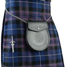 Scottish Pride Of Scotland Tartan 8 Yard Kilt For Men 38 Waist Size Traditional Tartan Kilt
