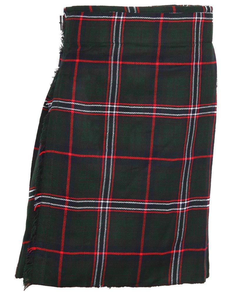Scottish National Tartan 8 Yard Kilt For Men 32 Waist Size Traditional Tartan Kilt