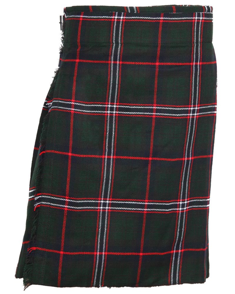 Scottish National Tartan 8 Yard Kilt For Men 34 Waist Size Traditional Tartan Kilt