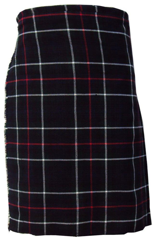 Scottish Mackenzie 8 Yard Tartan Kilt For Men 30 Waist Size Traditional Tartan Kilt