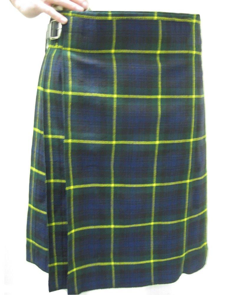 Scottish Gordon 8 Yard Kilt For Men 34 Waist Size Traditional Tartan Kilt Skirt