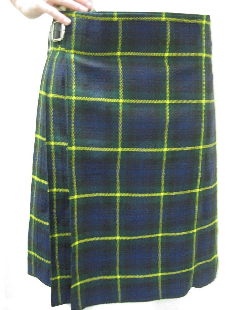 Scottish Gordon 8 Yard Kilt For Men 48 Waist Size Traditional Tartan Kilt Skirt