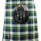 Scottish Dress Gordon 8 Yard Kilt For Men 42 Waist Size Traditional Tartan Kilt Skirt
