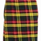 Scottish Buchanan Tartan 8 Yard Kilt For Men 50 Waist Size Traditional Tartan Kilt Skirts