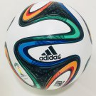NEW ADIDAS BRAZUCA FIFA WORLD CUP 2014 BRAZIL OFFICIAL SOCCER MATCH BALL SIZE 5
