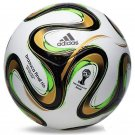 ADIDAS BRAZUCA OFFICIAL FINAL RIO SOCCER MATCH BALL FIFA WORLD CUP 2014 -SIALKOT