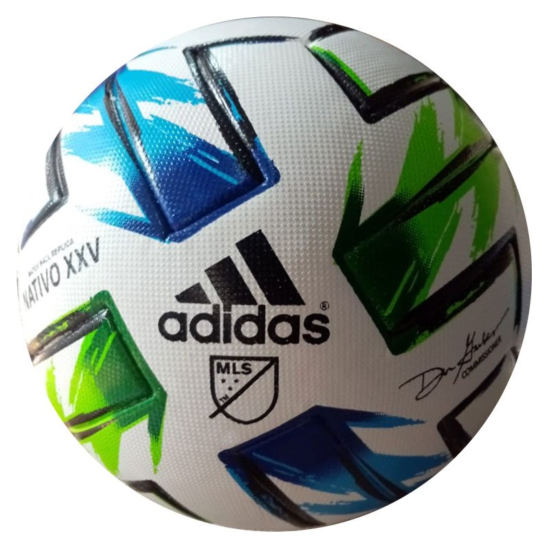 NEW ADIDAS MLS NATIVO XXV MINI BALL Size 5 FH7318 with Free Shipping