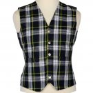 Scottish Dress Gordon Tartan Vest / Irish Formal Tartan Waistcoats - 4 Plaids