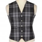 Scottish Gray Watch Vest / Irish Formal Tartan Waistcoats - 4 Plaids