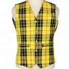 Scottish McLeod Of Lewis Vest / Irish Formal Tartan Waistcoats - 4 Plaids