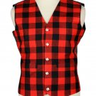 Scottish Rob Roy Vest / Irish Formal Tartan Waistcoats - 4 Plaids