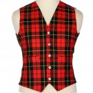 Scottish Wallace Vest / Irish Formal Tartan Waistcoats - 4 Plaids