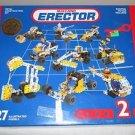 MECCANO METAL ERECTOR CONSTRUCTION SET  #030402