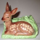 SHAWNEE PORCELAIN DEER PLANTER #766
